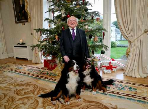 A Christmas and New Year message from President of Ireland, Michael D. Higgins 2019