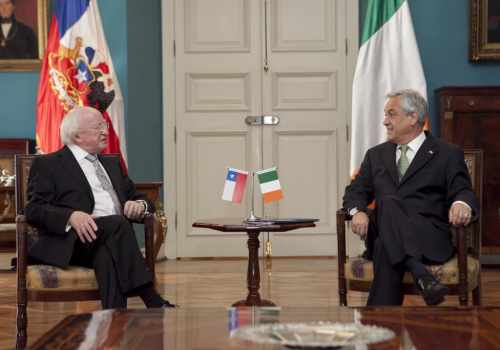 President Michael D. Higgins on his Official visit to South America