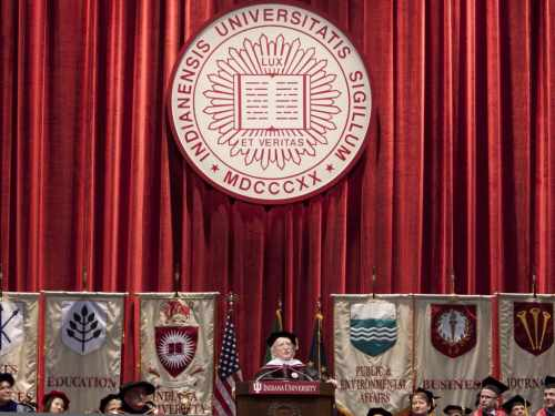 Address at Indiana University Commencement Ceremony