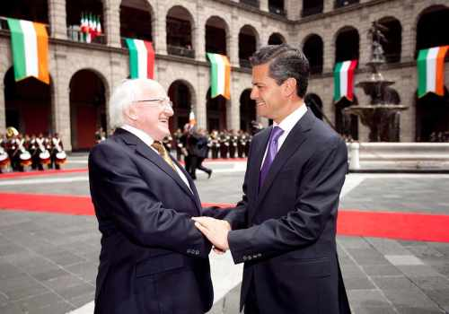 President Higgins makes Official Visits to Mexico, El Salvador And Costa Rica