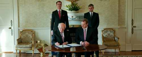 President signs warrant for the dissolution of the 31st Dáil