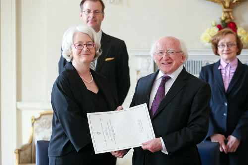 President appoints Mary Ellen Ring as a Judge of the High Court