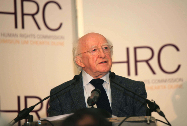President delivers the Irish Human Rights Commission's Annual Lecture
