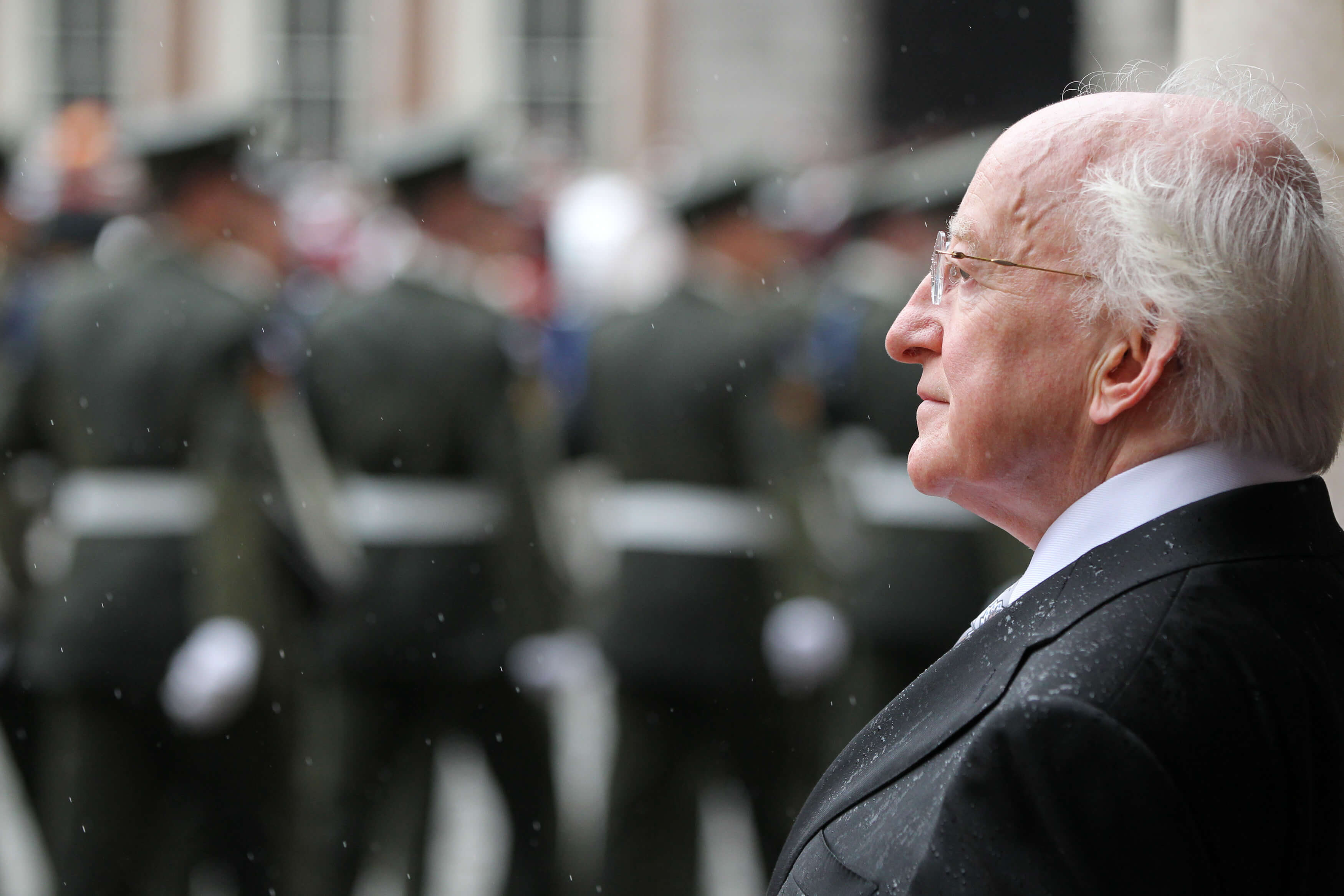 Micheal D. Higgins is the 9th President of Ireland